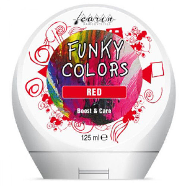 Funky Colors - Red, 125ml